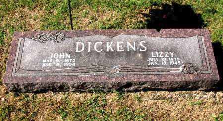 DICKENS, JOHN - Carroll County, Arkansas | JOHN DICKENS - Arkansas Gravestone Photos