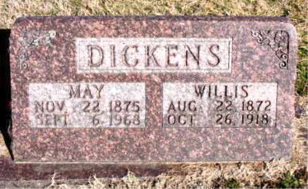 DICKENS, MAY - Carroll County, Arkansas | MAY DICKENS - Arkansas Gravestone Photos