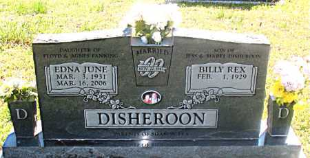 DISHEROON, EDNA JUNE - Carroll County, Arkansas | EDNA JUNE DISHEROON - Arkansas Gravestone Photos