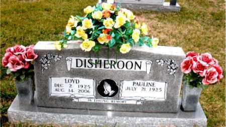 DISHEROON, LOYD - Carroll County, Arkansas | LOYD DISHEROON - Arkansas Gravestone Photos