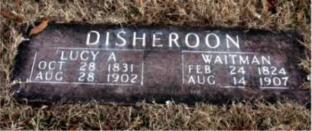 DISHEROON, WAITMAN - Carroll County, Arkansas | WAITMAN DISHEROON - Arkansas Gravestone Photos