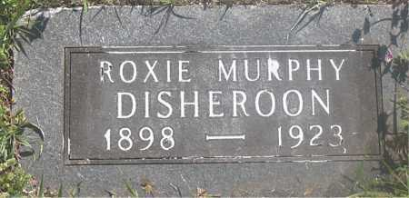 DISHEROON, ROXIE - Carroll County, Arkansas | ROXIE DISHEROON - Arkansas Gravestone Photos