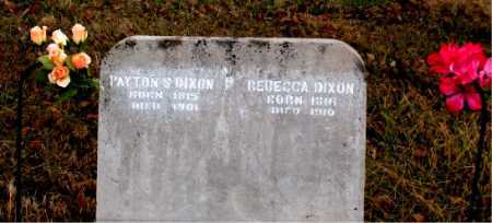 DIXION, PAYTON S - Carroll County, Arkansas | PAYTON S DIXION - Arkansas Gravestone Photos