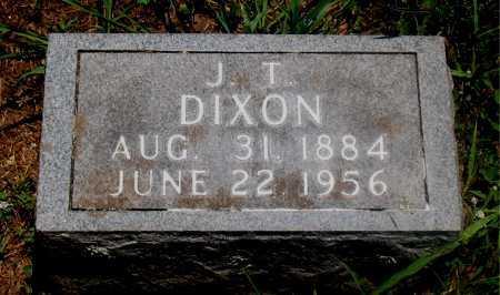 DIXON, J. T. - Carroll County, Arkansas | J. T. DIXON - Arkansas Gravestone Photos