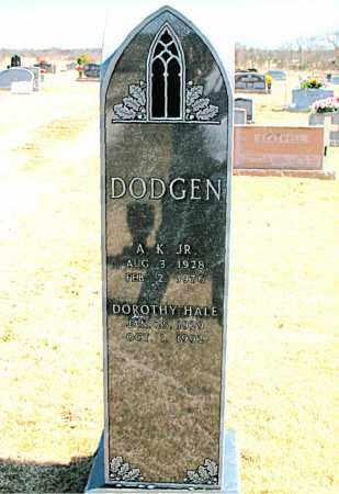 HALL DODGEN, DOROTHY - Carroll County, Arkansas | DOROTHY HALL DODGEN - Arkansas Gravestone Photos