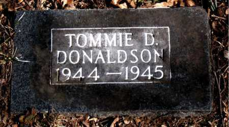 DONALDSON, TOMMIE D - Carroll County, Arkansas | TOMMIE D DONALDSON - Arkansas Gravestone Photos
