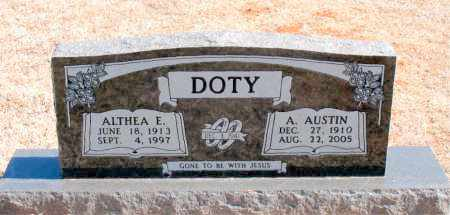 DOTY, ALTHEA E. - Carroll County, Arkansas | ALTHEA E. DOTY - Arkansas Gravestone Photos