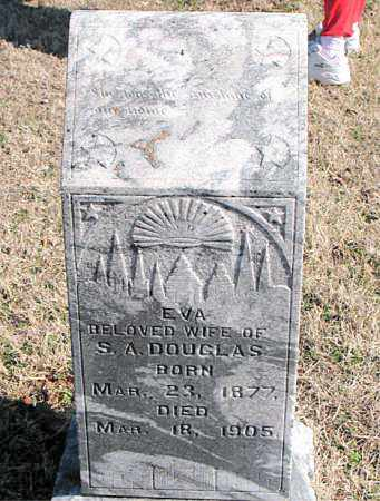 DOUGLAS, EVA - Carroll County, Arkansas | EVA DOUGLAS - Arkansas Gravestone Photos