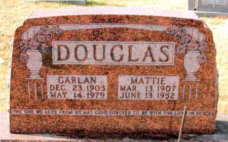 DOUGLAS, GARLAN - Carroll County, Arkansas | GARLAN DOUGLAS - Arkansas Gravestone Photos