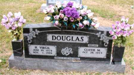 DOUGLAS, H. VIRGIL - Carroll County, Arkansas | H. VIRGIL DOUGLAS - Arkansas Gravestone Photos