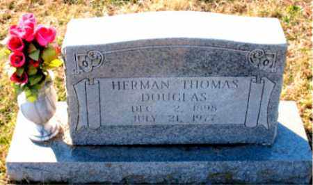 DOUGLAS, HERMAN  THOMAS - Carroll County, Arkansas | HERMAN  THOMAS DOUGLAS - Arkansas Gravestone Photos