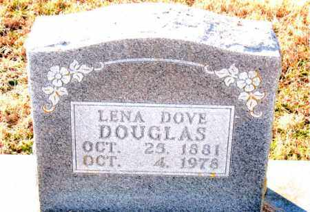 DOUGLAS, LENA  DOVE - Carroll County, Arkansas | LENA  DOVE DOUGLAS - Arkansas Gravestone Photos