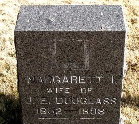 DOUGLASS, MARGARETT I - Carroll County, Arkansas | MARGARETT I DOUGLASS - Arkansas Gravestone Photos