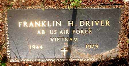 DRIVER (VETERAN VIET), FRANKLIN H - Carroll County, Arkansas | FRANKLIN H DRIVER (VETERAN VIET) - Arkansas Gravestone Photos