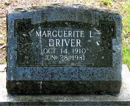 DRIVER, MARGUERITE  L. - Carroll County, Arkansas | MARGUERITE  L. DRIVER - Arkansas Gravestone Photos