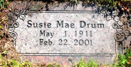 DRUM, SUSIE MAE - Carroll County, Arkansas | SUSIE MAE DRUM - Arkansas Gravestone Photos