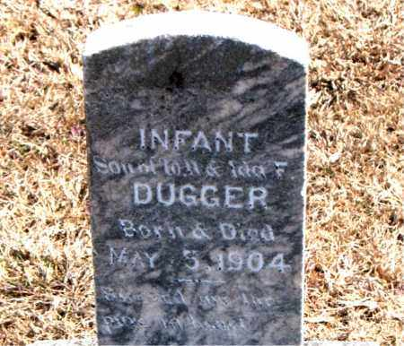 DUGGER, INFANT SON - Carroll County, Arkansas | INFANT SON DUGGER - Arkansas Gravestone Photos