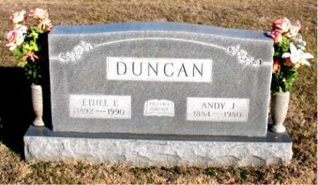 DUNCAN, ANDY J. - Carroll County, Arkansas | ANDY J. DUNCAN - Arkansas Gravestone Photos
