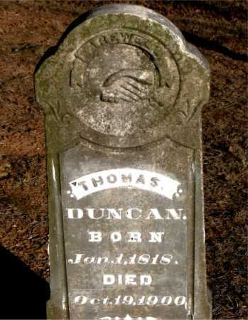 DUNCAN, THOMAS - Carroll County, Arkansas | THOMAS DUNCAN - Arkansas Gravestone Photos