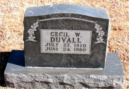 DUVALL, CECIL  W. - Carroll County, Arkansas | CECIL  W. DUVALL - Arkansas Gravestone Photos