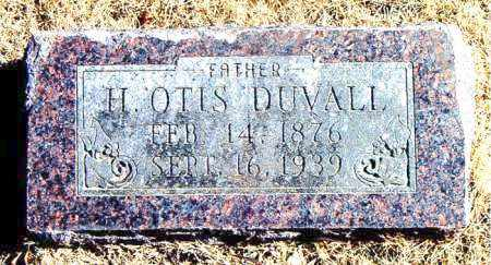 DUVALL, H. OTIS - Carroll County, Arkansas | H. OTIS DUVALL - Arkansas Gravestone Photos