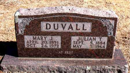DUVALL, JULIAN  T. - Carroll County, Arkansas | JULIAN  T. DUVALL - Arkansas Gravestone Photos