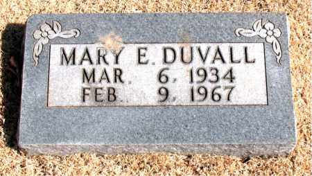 DUVALL, MARY  E. - Carroll County, Arkansas | MARY  E. DUVALL - Arkansas Gravestone Photos