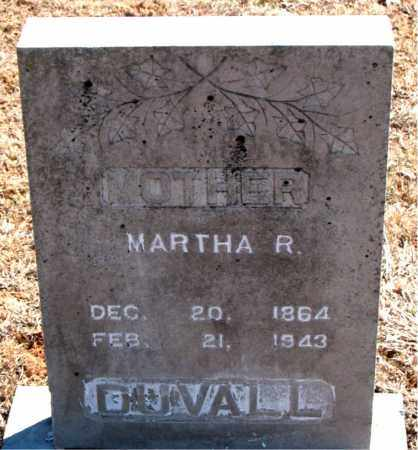 DUVALL, MARTHA R. - Carroll County, Arkansas | MARTHA R. DUVALL - Arkansas Gravestone Photos