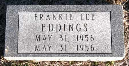 EDDINGS, FRANKIE  LEE - Carroll County, Arkansas | FRANKIE  LEE EDDINGS - Arkansas Gravestone Photos