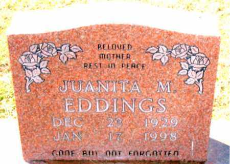 EDDINGS, JUANITA M. - Carroll County, Arkansas | JUANITA M. EDDINGS - Arkansas Gravestone Photos