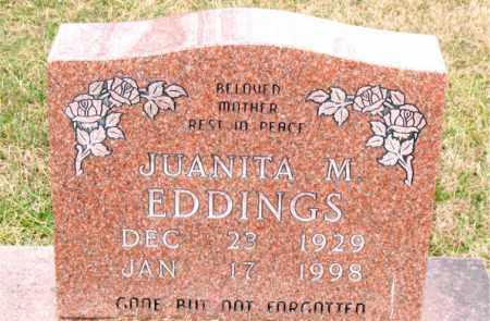 EDDINGS, JAUNITA M. - Carroll County, Arkansas | JAUNITA M. EDDINGS - Arkansas Gravestone Photos