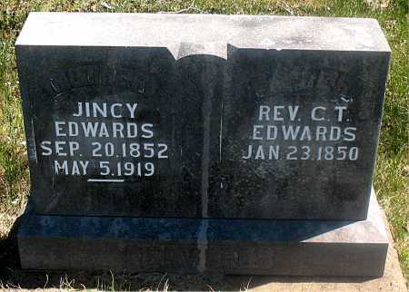 EDWARDS, REV C. T. - Carroll County, Arkansas | REV C. T. EDWARDS - Arkansas Gravestone Photos