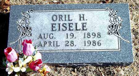 EISELE, ORIL H. - Carroll County, Arkansas | ORIL H. EISELE - Arkansas Gravestone Photos