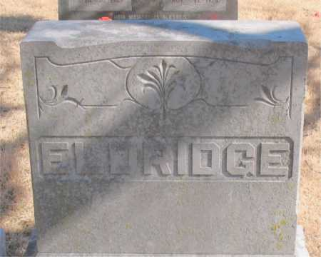 ELDRIDGE, ELIZABETH - Carroll County, Arkansas | ELIZABETH ELDRIDGE - Arkansas Gravestone Photos