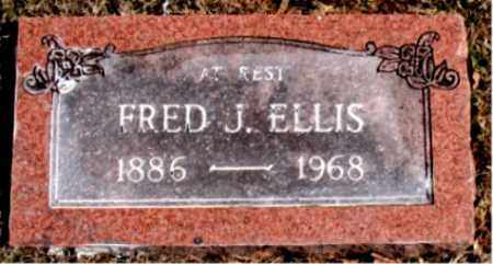 ELLIS, FRED  J. - Carroll County, Arkansas | FRED  J. ELLIS - Arkansas Gravestone Photos