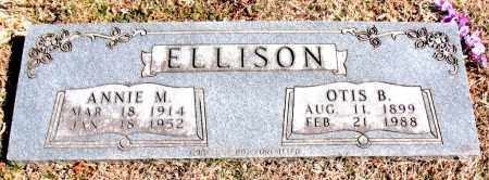 ELLISON, OTIS B. - Carroll County, Arkansas | OTIS B. ELLISON - Arkansas Gravestone Photos