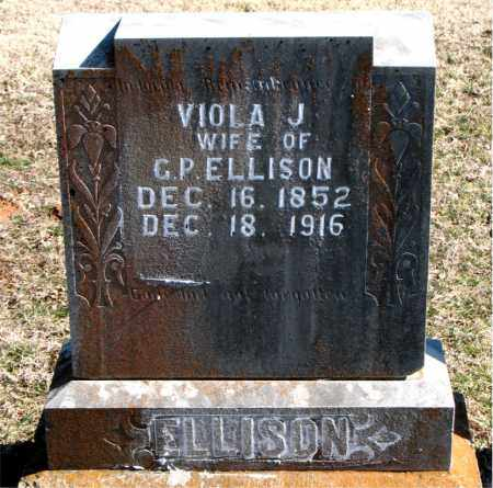 ELLISON, VIOLA J - Carroll County, Arkansas | VIOLA J ELLISON - Arkansas Gravestone Photos