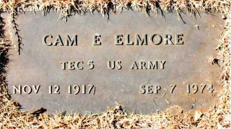 ELMORE  (VETERAN), CAM E. - Carroll County, Arkansas | CAM E. ELMORE  (VETERAN) - Arkansas Gravestone Photos