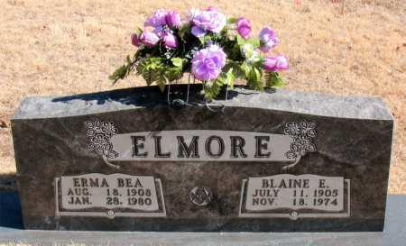 ELMORE, ERMA BEA - Carroll County, Arkansas | ERMA BEA ELMORE - Arkansas Gravestone Photos