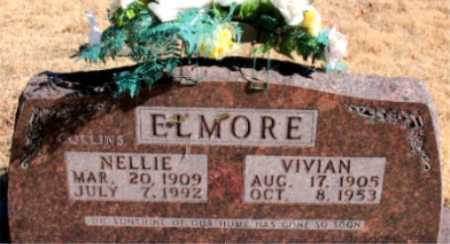 ELMORE, NELLIE - Carroll County, Arkansas | NELLIE ELMORE - Arkansas Gravestone Photos
