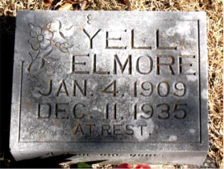 ELMORE, YELL - Carroll County, Arkansas | YELL ELMORE - Arkansas Gravestone Photos