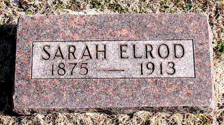 ELROD, SARAH - Carroll County, Arkansas | SARAH ELROD - Arkansas Gravestone Photos