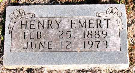 EMERT, HENRY - Carroll County, Arkansas | HENRY EMERT - Arkansas Gravestone Photos