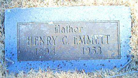EMMETT, HENRY C. - Carroll County, Arkansas | HENRY C. EMMETT - Arkansas Gravestone Photos