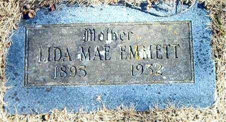 EMMETT, LIDA MAE - Carroll County, Arkansas | LIDA MAE EMMETT - Arkansas Gravestone Photos