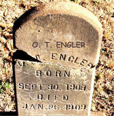 ENGLER, O. T. - Carroll County, Arkansas | O. T. ENGLER - Arkansas Gravestone Photos