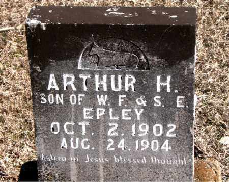 EPLEY, ARTHUR H - Carroll County, Arkansas | ARTHUR H EPLEY - Arkansas Gravestone Photos