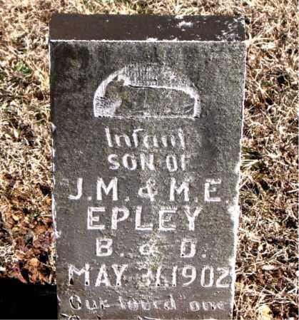 EPLEY, INFANT SON - Carroll County, Arkansas   INFANT SON EPLEY - Arkansas Gravestone Photos