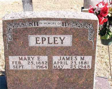 EPLEY, JAMES M - Carroll County, Arkansas | JAMES M EPLEY - Arkansas Gravestone Photos