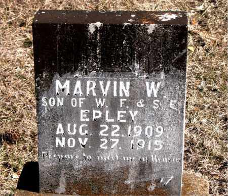 EPLEY, MARVIN W. - Carroll County, Arkansas | MARVIN W. EPLEY - Arkansas Gravestone Photos